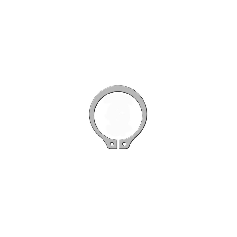 Pierścień seggera zewnętrzny nierdzewny Z 45