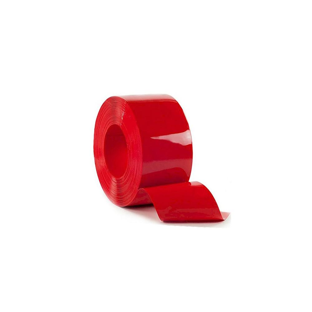 Kurtyna paskowa PCV standard 200x2 - czerwona